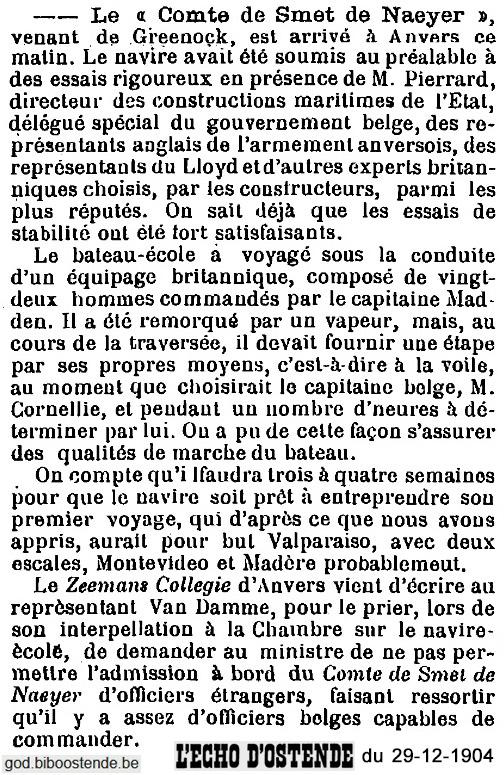 Histoire des navires-écoles de l'Association Maritime Belge - Page 2 1904_140