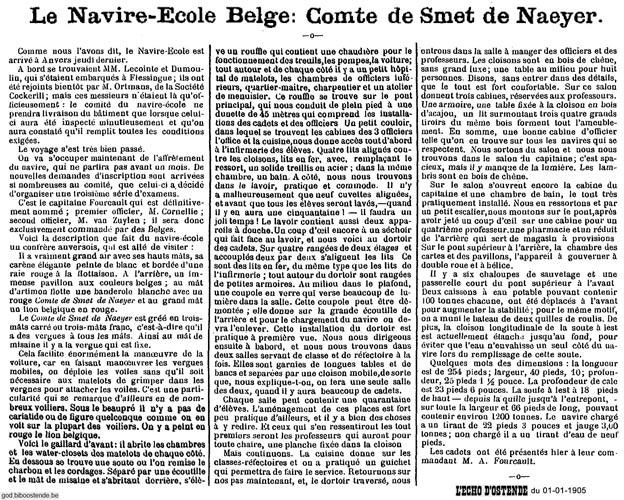 Histoire des navires-écoles de l'Association Maritime Belge - Page 2 1905_011