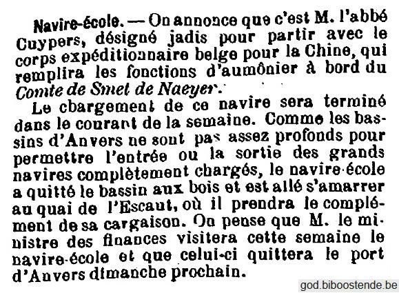 Histoire des navires-écoles de l'Association Maritime Belge - Page 2 1905_016