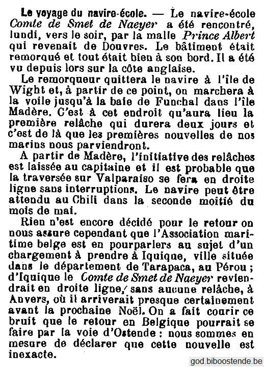 Histoire des navires-écoles de l'Association Maritime Belge - Page 2 1905_021