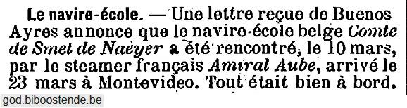 Histoire des navires-écoles de l'Association Maritime Belge - Page 2 1905_029