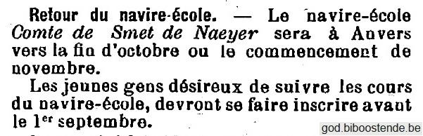 Histoire des navires-écoles de l'Association Maritime Belge - Page 2 1905_047