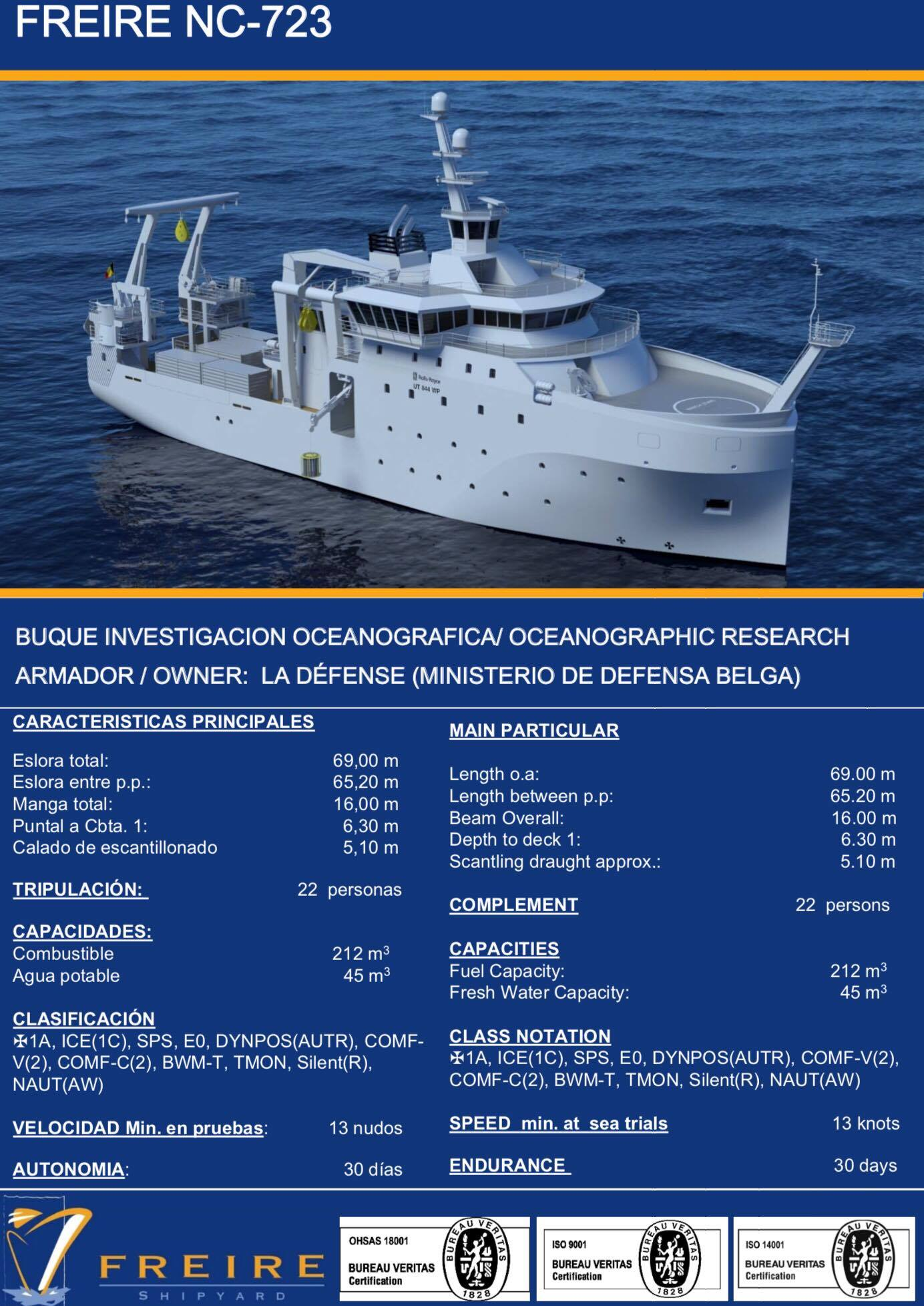 New Federal Research Vessel BELGICA 55668110