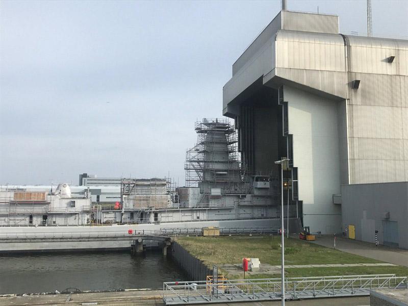 Réaménagement de la base navale de Zeebrugge C_nj8s11