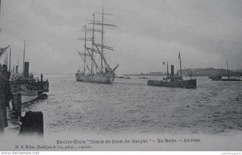 Histoire des navires-écoles de l'Association Maritime Belge - Page 2 Comte_11