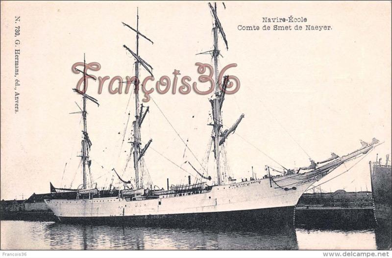 Histoire des navires-écoles de l'Association Maritime Belge - Page 2 Comte_13