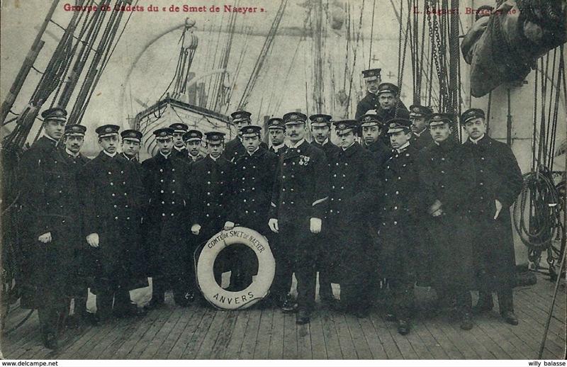 Histoire des navires-écoles de l'Association Maritime Belge - Page 2 Comte_15