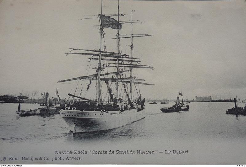 Histoire des navires-écoles de l'Association Maritime Belge - Page 2 Comte_17