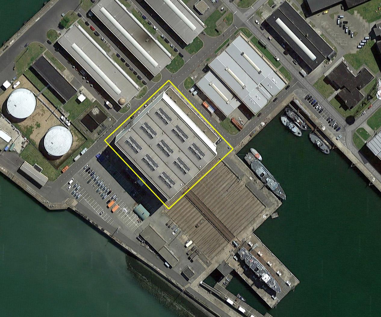 Réaménagement de la base navale de Zeebrugge - Page 2 Hangar13