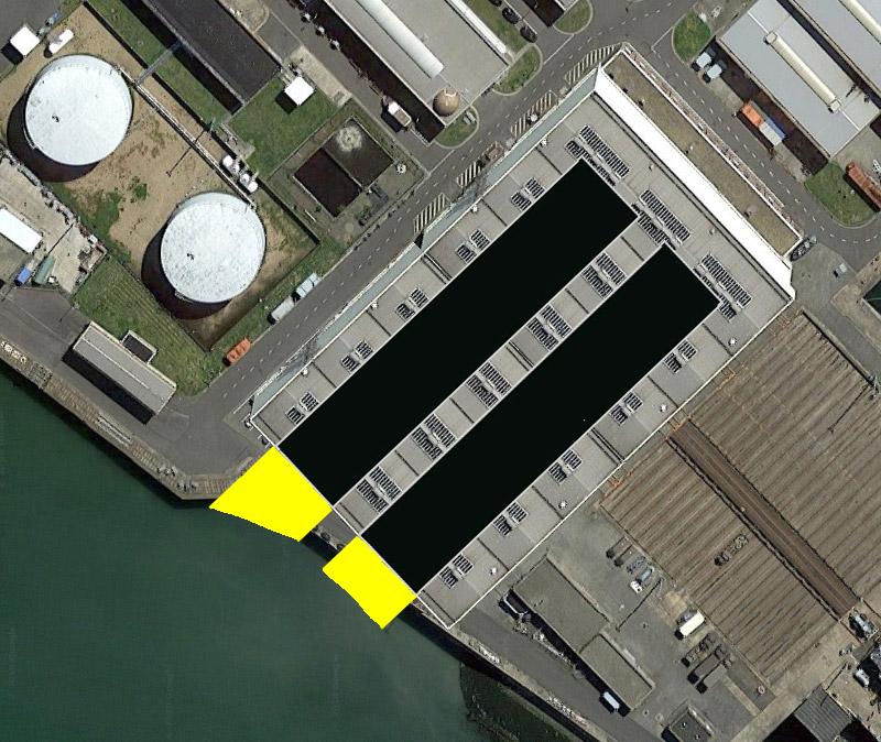 Réaménagement de la base navale de Zeebrugge - Page 2 Hangar17