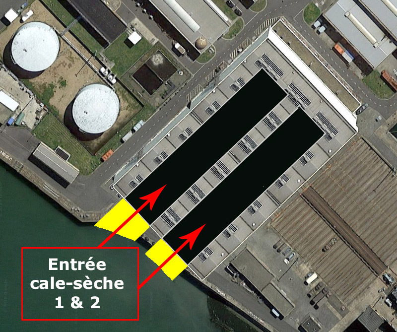 Réaménagement de la base navale de Zeebrugge - Page 2 Hangar18