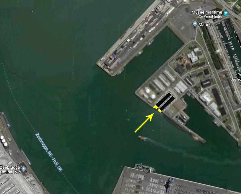 Réaménagement de la base navale de Zeebrugge - Page 2 Hangar19