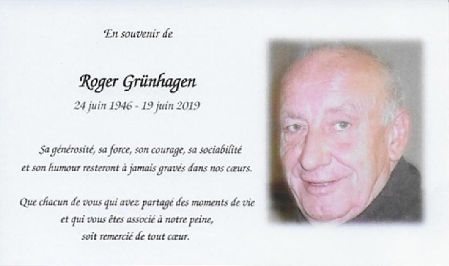 Décès de Roger Grünhagen Image110