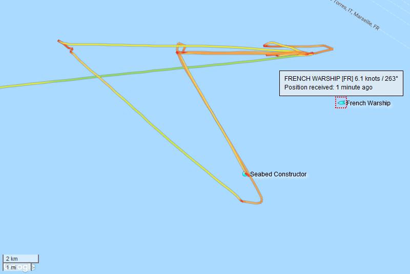Reprise des recherches du sous-marin MINERVE - Page 5 Minerv27