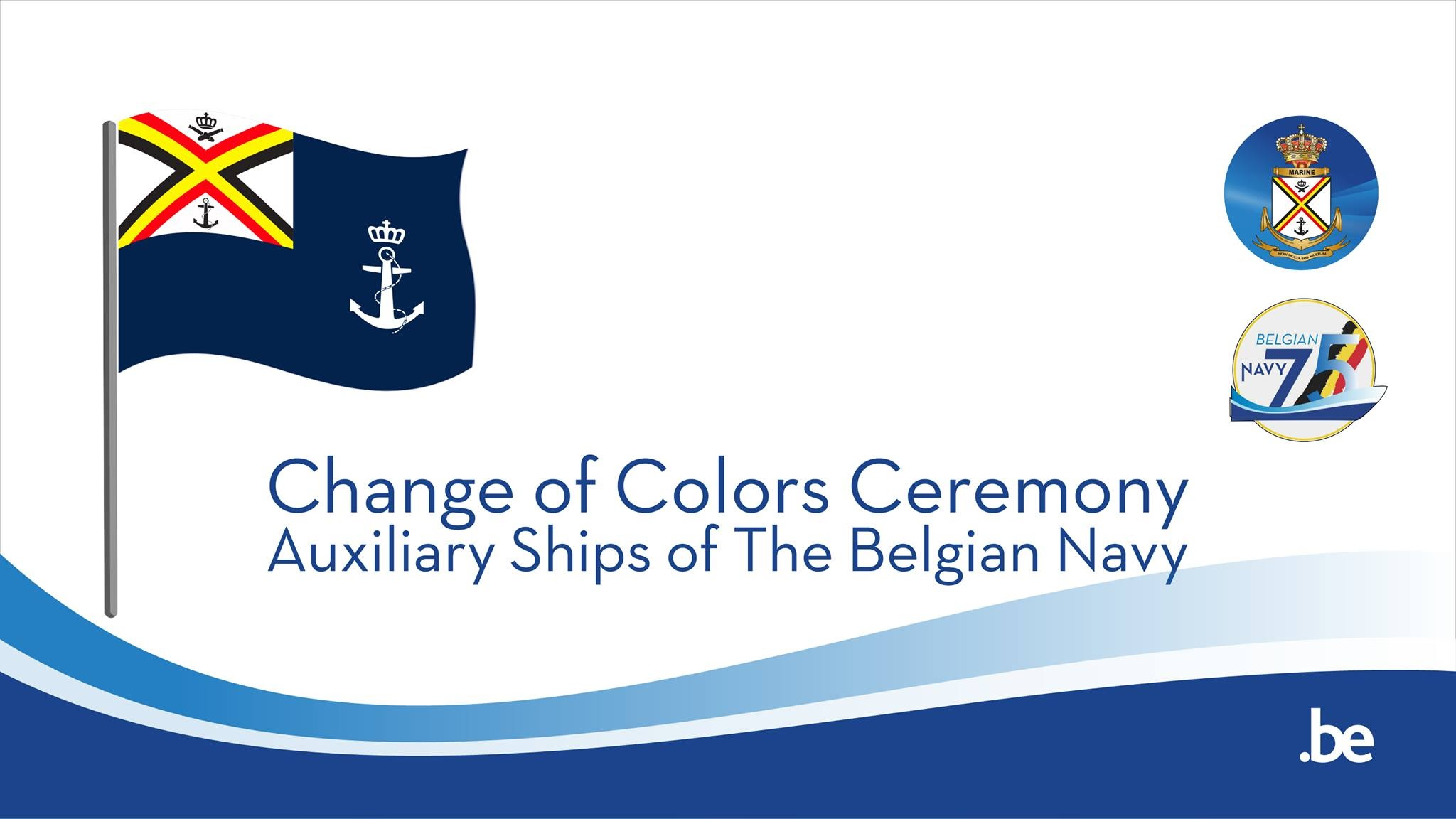 Nouveau pavillon pour les navires auxiliaires de la Marine Mmk312