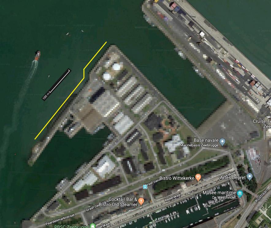 Réaménagement de la base navale de Zeebrugge Mmmm1c10