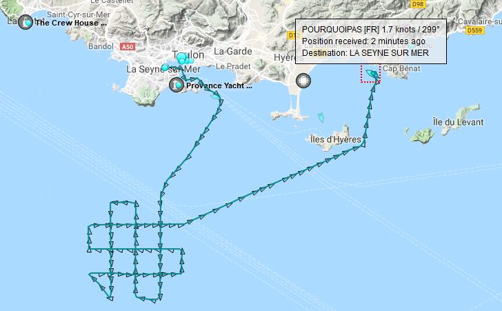 Reprise des recherches du sous-marin MINERVE Mmmm1e10