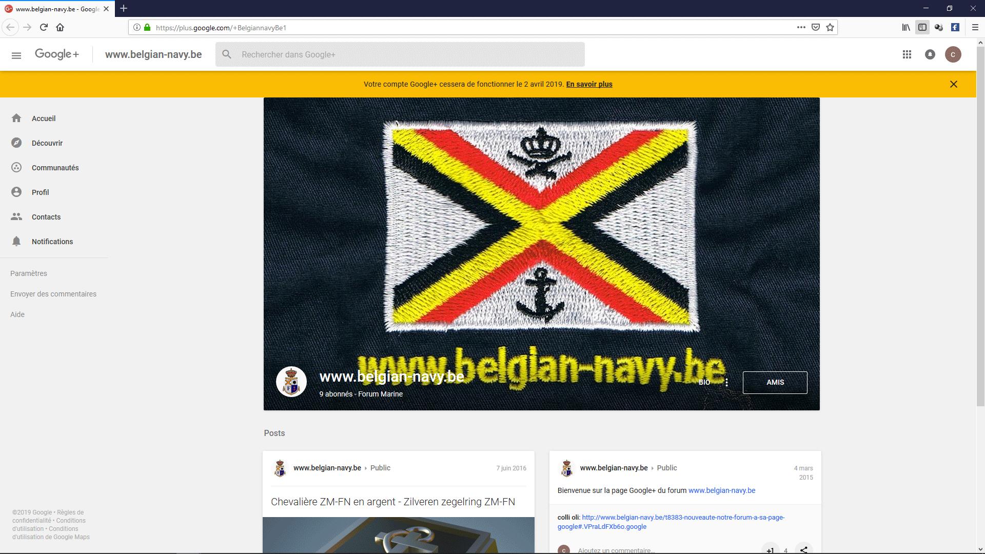 Nouveauté : Notre forum à sa page Google+ Mmmm1f10