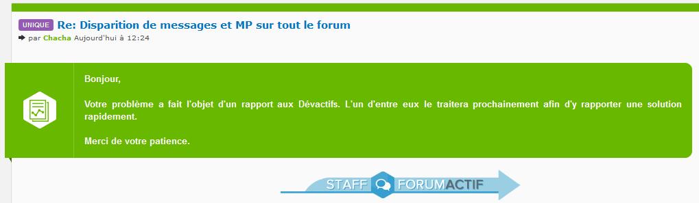 Problème pour poster sur le forum !!! Mmmm1k12
