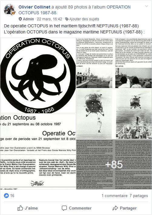 L'opération OCTOPUS dans le magazine maritime NEPTUNUS Mmmm1p18