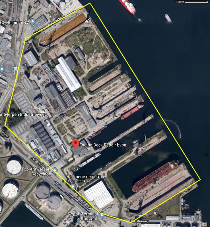 Réaménagement de la base navale de Zeebrugge Mmmm1p35