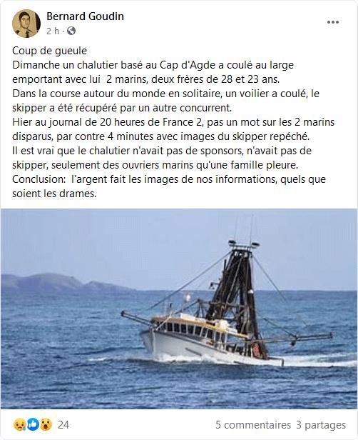 le Vendée globe classement  Mmmooo10