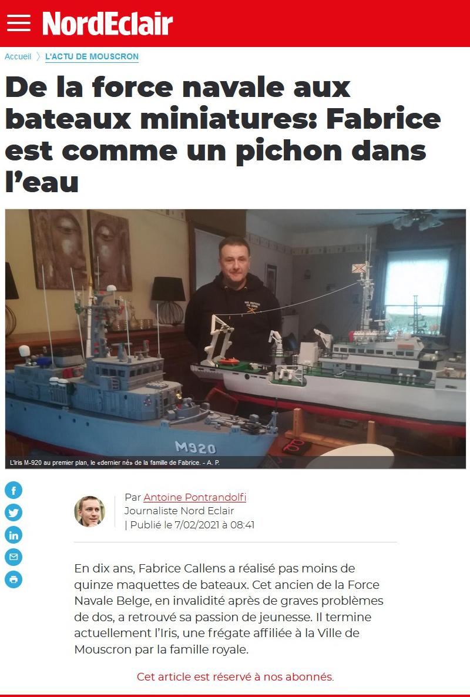 De la Force Navale aux bateaux miniatures... Nordec10