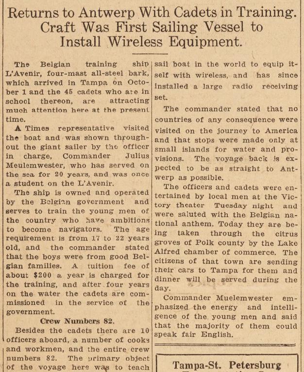 A la recherche de l'histoire du Zinnia - Page 17 Oct_1911