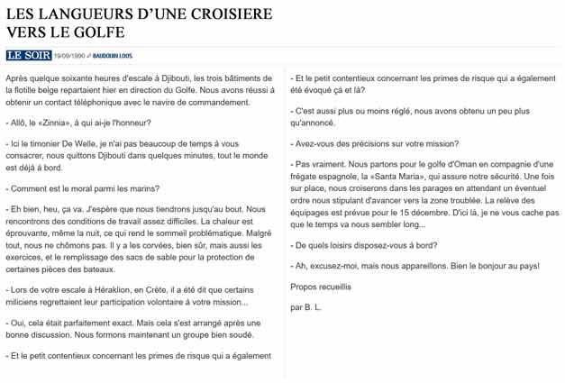 Southern Breeze dans les archives du journal LE SOIR - Page 2 P_soir28