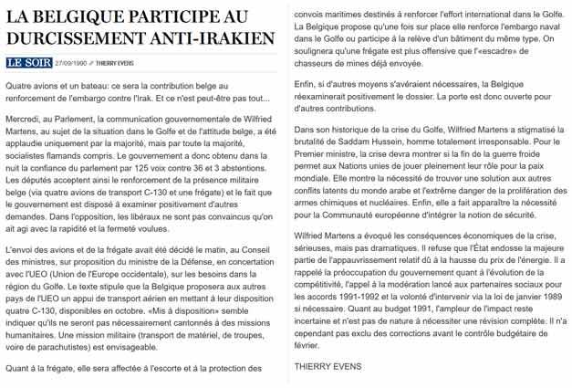 Southern Breeze dans les archives du journal LE SOIR - Page 2 P_soir31