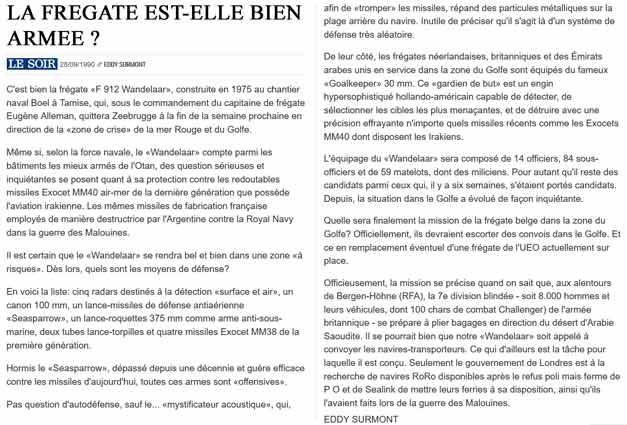 Southern Breeze dans les archives du journal LE SOIR - Page 2 P_soir32