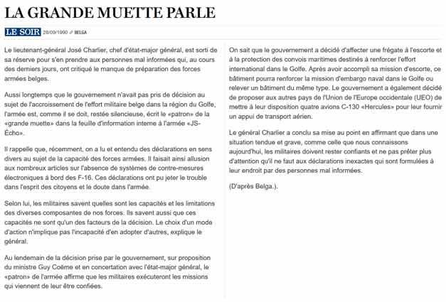 Southern Breeze dans les archives du journal LE SOIR - Page 2 P_soir33