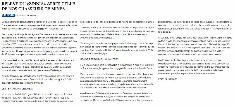 Southern Breeze dans les archives du journal LE SOIR - Page 4 P_soir58