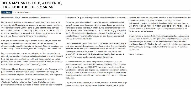 Southern Breeze dans les archives du journal LE SOIR - Page 4 P_soir59