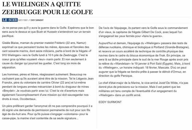 Southern Breeze dans les archives du journal LE SOIR - Page 4 P_soir62