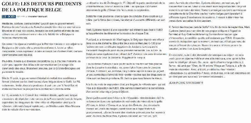 Southern Breeze dans les archives du journal LE SOIR - Page 4 P_soir65