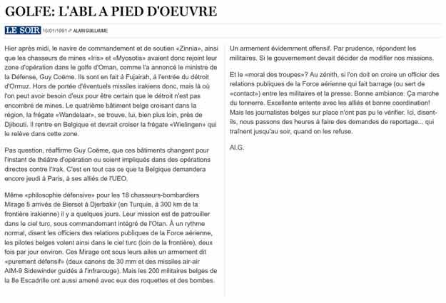 Southern Breeze dans les archives du journal LE SOIR - Page 4 P_soir66