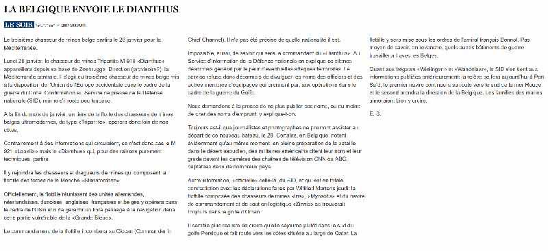 Southern Breeze dans les archives du journal LE SOIR - Page 5 P_soir70