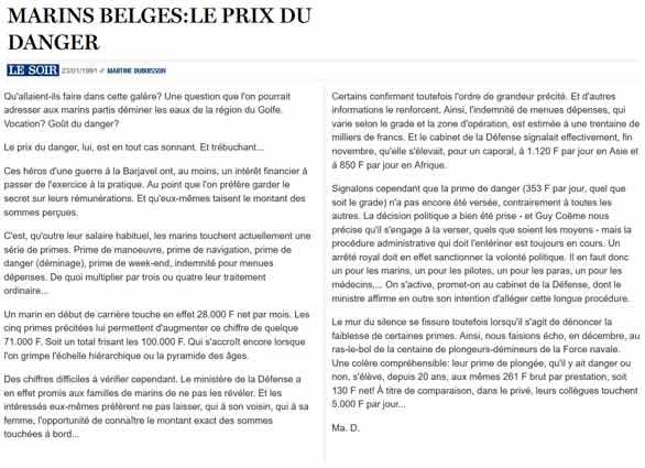 Southern Breeze dans les archives du journal LE SOIR - Page 5 P_soir75