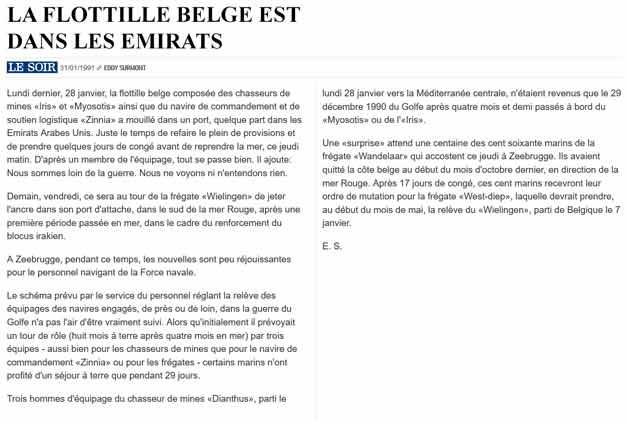 Southern Breeze dans les archives du journal LE SOIR - Page 5 P_soir81