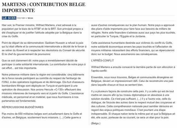 Southern Breeze dans les archives du journal LE SOIR - Page 5 P_soir83