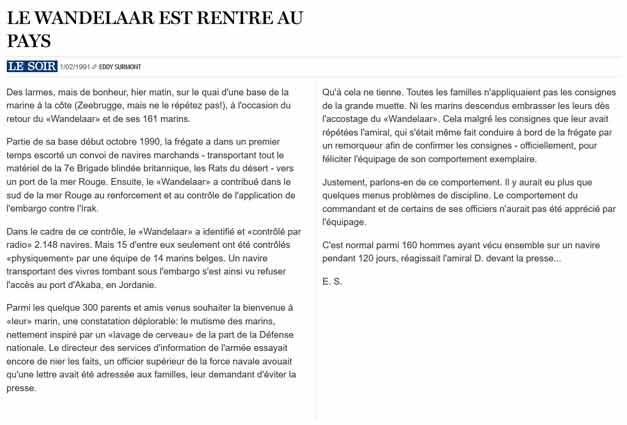 Southern Breeze dans les archives du journal LE SOIR - Page 6 P_soir84