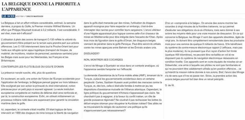Southern Breeze dans les archives du journal LE SOIR - Page 6 P_soir86