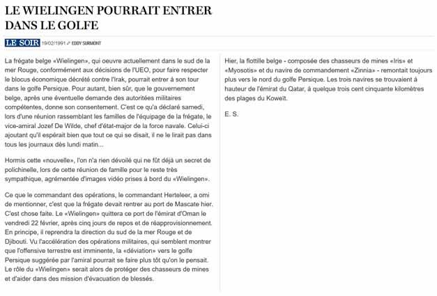 Southern Breeze dans les archives du journal LE SOIR - Page 6 P_soir88