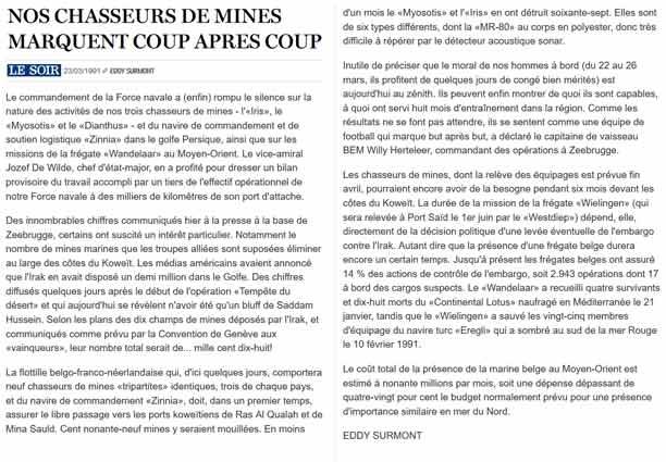 Southern Breeze dans les archives du journal LE SOIR - Page 6 P_soir89