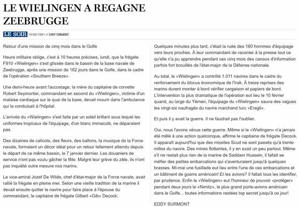 Southern Breeze dans les archives du journal LE SOIR - Page 7 P_soir96
