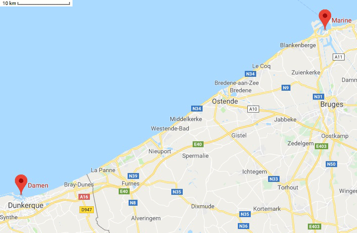 Réaménagement de la base navale de Zeebrugge - Page 2 Zeebru10