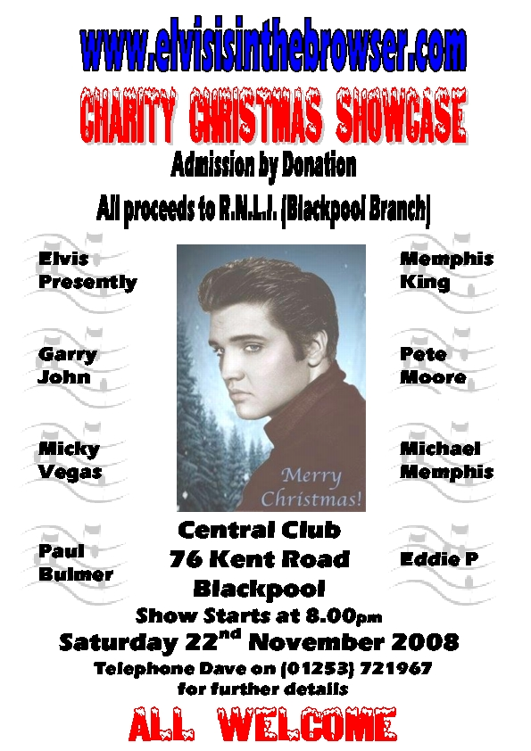 Elvis is in the Browser Xmas Showcase Elvisi10
