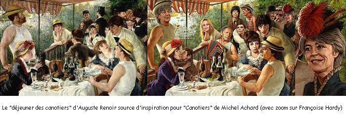 Françoise Hardy au déjeuner des canotiers... Canoti10