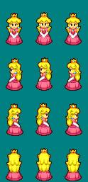 Les ressources de Mario Peach10